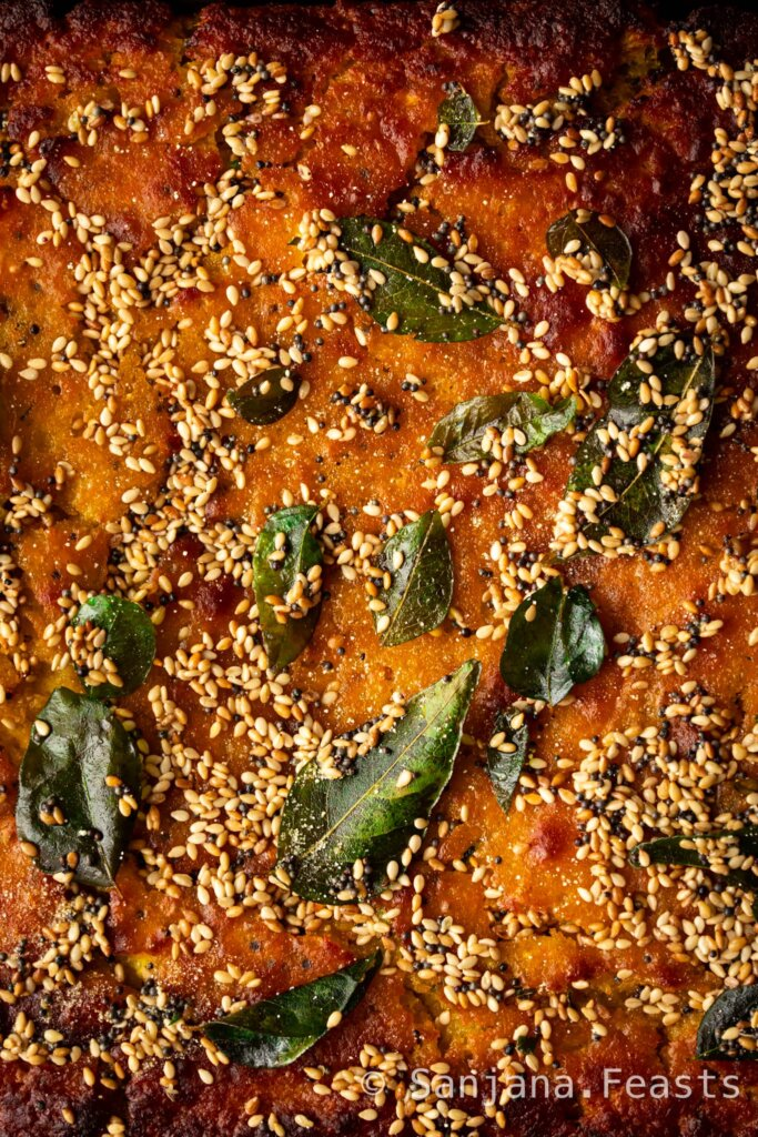 Perfect Handvo - Perfect Handvo (Gujarati Lentil Cake)