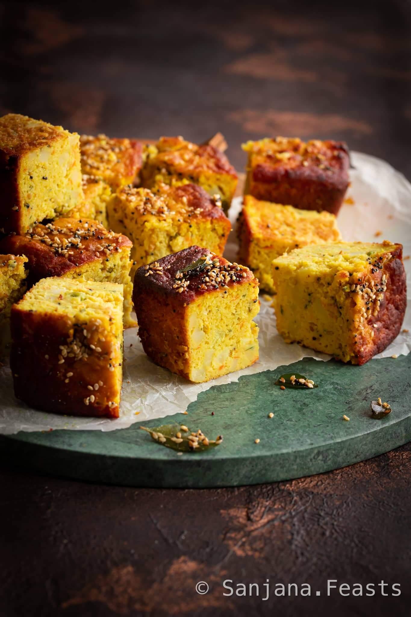 Perfect Handvo (Gujarati Lentil Cake)
