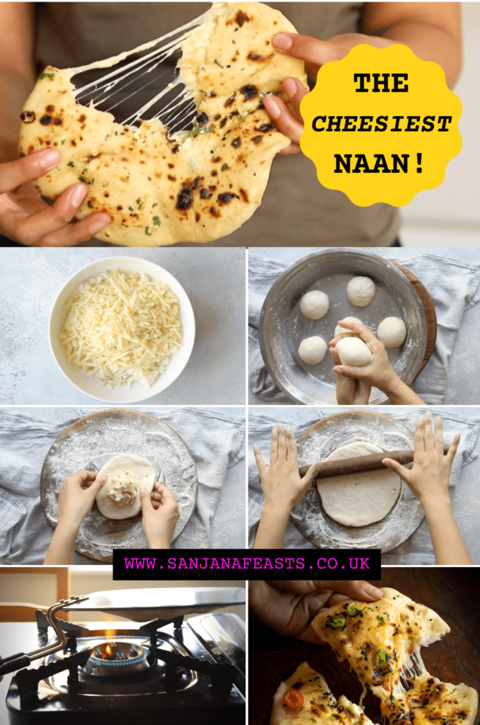 The cheesiest bullet naan recipe
