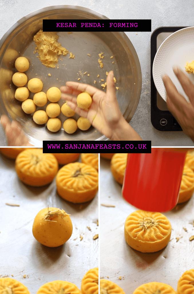 Kesar Penda How to make Yellow Penda