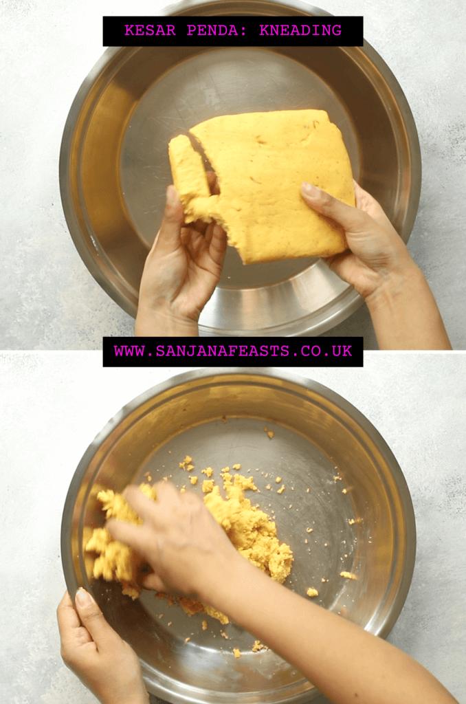 Kesar Penda Penda recipe tutorial